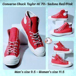 🆕Converse Chuck Taylor 70 high Sedona Red NIB